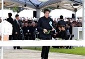 Japanese Protest US Military Presence during Okinawa War Memorial