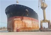 تعمیر نفتکش غول پیکر ایرانی برای اولین بار در یاردهای تعمیراتی داخلی