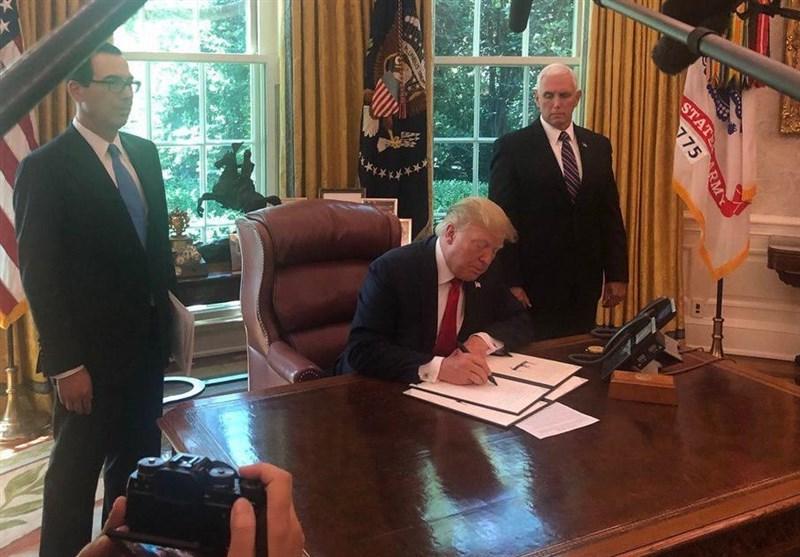 ترامپ تحریمهای جدیدی علیه ایران اعمال کرد