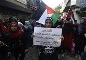 Palestinian Refugees in Lebanon March against Bahrain Conference (+Video)