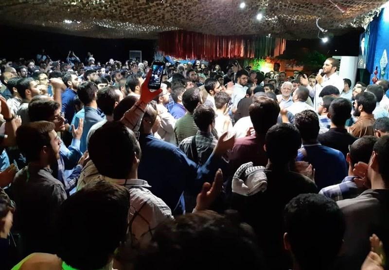 وداع باشکوه مردم با پیکر شهید مدافع حرم، «مهدی ثامنی راد»+عکس و فیلم