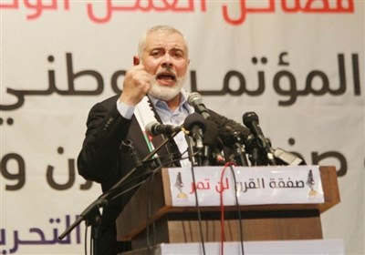 هنیة: فلسطین لیست للبیع