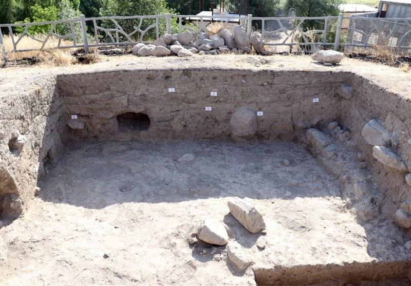 کشف معماری دستکند و صخرهای در معبد الهه آبها + تصویر
