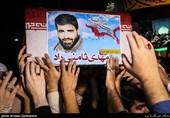 همسر شهید مدافع حرم «مهدی ثامنی راد» از مردم قدردانی کرد