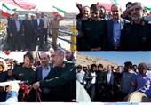 """پل بخش سیلزده """"وحدتآباد"""" درهشهر به بهرهبرداری رسید"""