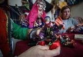 تولید عروسکهای سنتی در ترکیه + عکس