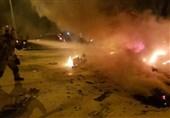 """""""انفجار تانکر سوخت"""" در جاده فیروزکوه 2کشته بر جا گذاشت"""