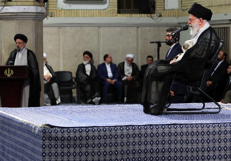 """الامام الخامنئی: المقترح الأمریکی """"خدعة""""..الشعب الإیرانی لن یتراجع"""