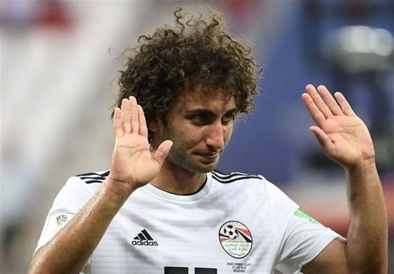 جام ملتهای آفریقا مهاجم تیم ملی مصر از اردوی کشورش اخراج شد