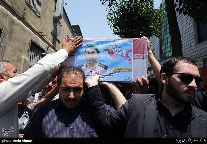 """جزئیات تشییع شهید مدافع حرم """"علی آقایی"""" در اردبیل اعلام شد"""