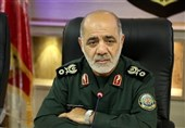 قائد عسکری إیرانی: لن نسمح لأی بلد بانتهاک الأراضی الایرانیة