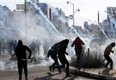 نبرد نابرابر فلسطینیان با اشغالگران؛ سنگ در برابر گلوله+ تصاویر