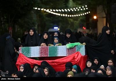 مراسم وداع با شهدای دفاع مقدس در اصفهان