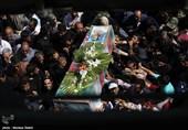 مراسم تشییع شهدای دفاع مقدس در اصفهان به روایت تصاویر