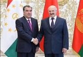 مذاکره روسای جمهور تاجیکستان و بلاروس در مینسک