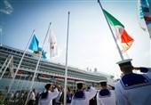 همزمان با افتتاح دهکده یونیورسیاد 2019؛ پرچم فیزو و ایتالیا برافراشته شد