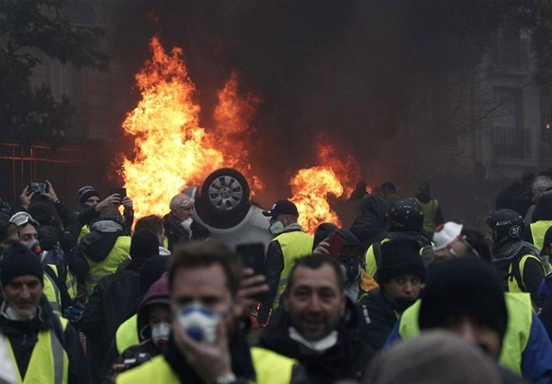 Yellow Vests Protesters Hold 34th Weekend Rally in France (+Video)