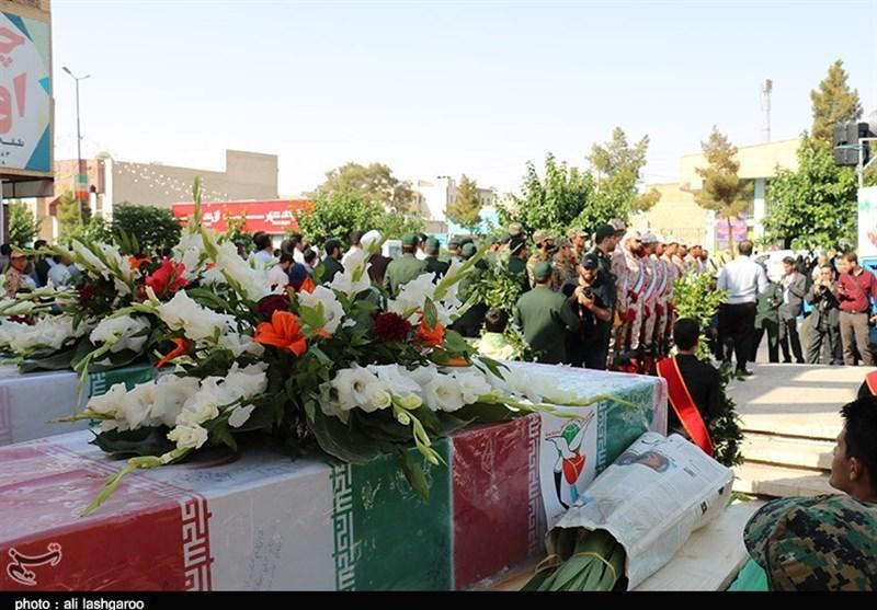 پیکر مطهر 26 شهید تازه تفحص شده از مرز سومار وارد کشور میشود
