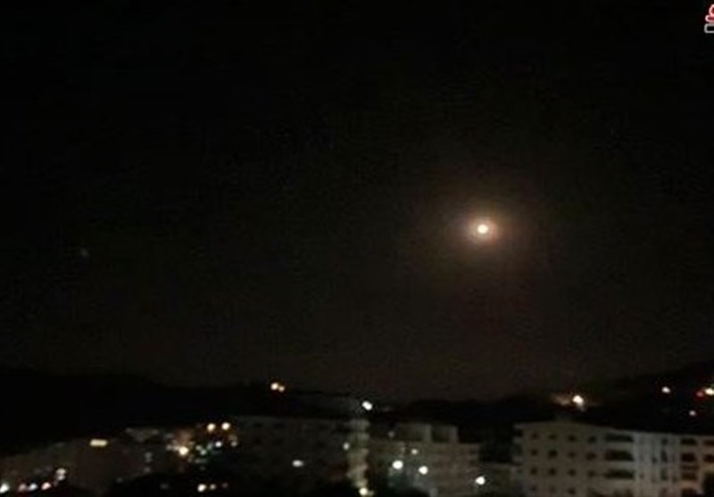 Syria Air Defenses Shoot Down Israeli Missiles over Hama Province (+Video)