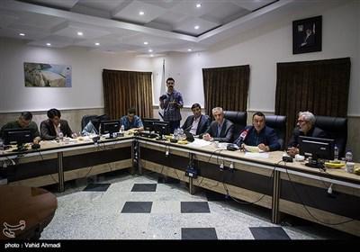 نشست خبری سید حسن رضوی مدیر عامل شرکت آب منطقهای استان تهران
