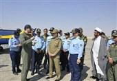 بازدید فرمانده ارتش از پایگاه شکاری شهید بابایی نهاجا