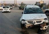 واژگونی خودرو معلمان شهرستان اردل / انتقال مصدومان به بیمارستان فارسان