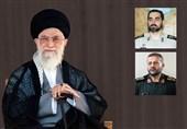 با حکم امام خامنهای؛ جانشین ستاد کل و رئیس سازمان بسیج منصوب شدند