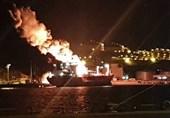 انفجار تانکر مواد شیمیایی در بندری در غرب ترکیه