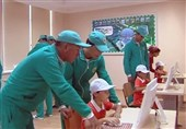 آموزش جنگجویان سایبری در آکادمی نظامی ترکمنستان