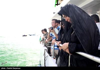 آیین بزرگداشت شهدای هواپیمای مسافری 655 در خلیج فارس - بندرعباس