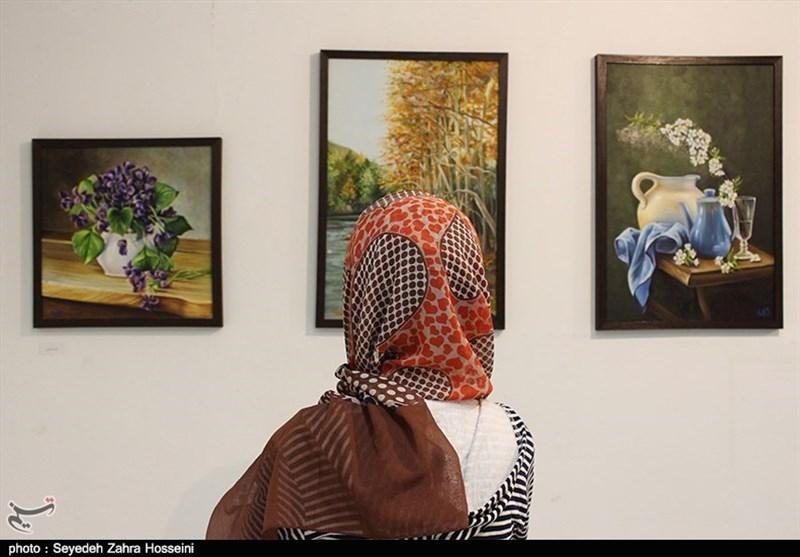 نمایشگاه گروهی نقاشی «یک حس خوب» به روایت تصویر
