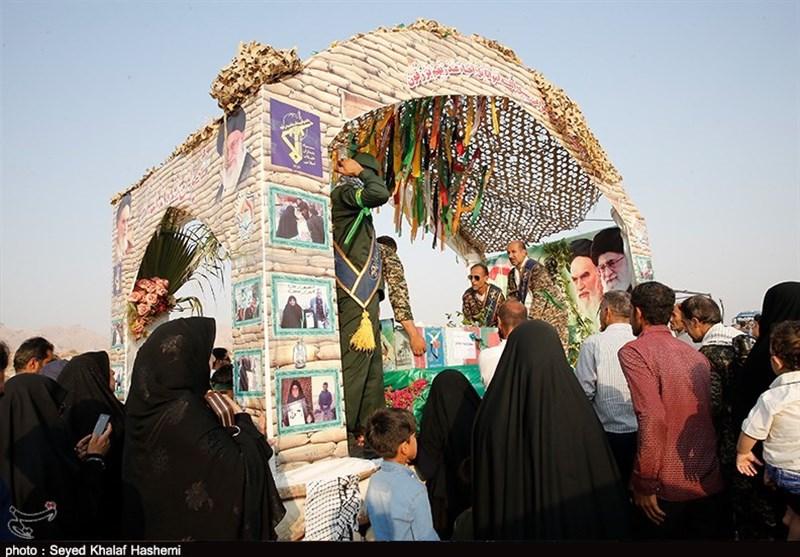 بوشهر  تشییع پیکر شهید «سلیمی» در تنگستان به روایت تصویر