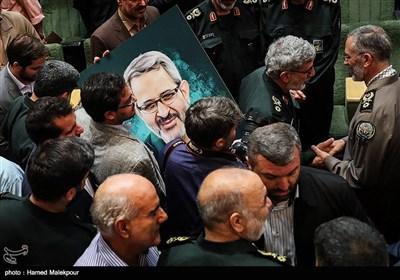 در حاشیه مراسم تودیع و معارفه رئیس سازمان بسیج مستضعفین