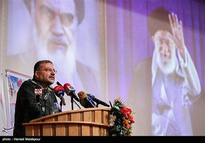 سخنرانی سردار غلامرضا سلیمانی رئیس جدید سازمان بسیج مستضعفین