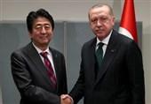 اردوغان: ترکیه و ژاپن ممکن است به عنوان رابط بین ایران و امریکا عمل کنند