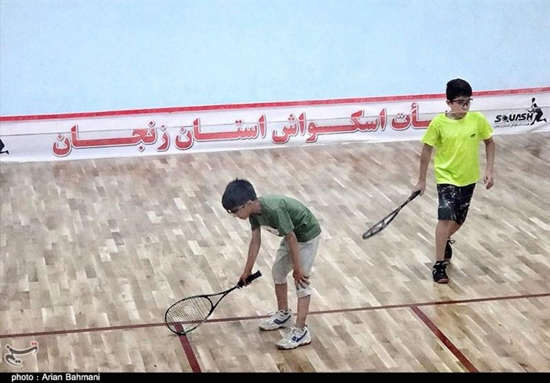 برگزاری مسابقات قهرمانی کشور اسکواش پسران در زنجان+ تصاویر