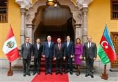 دیدار وزیر امور خارجه جمهوری آذربایجان از پرو