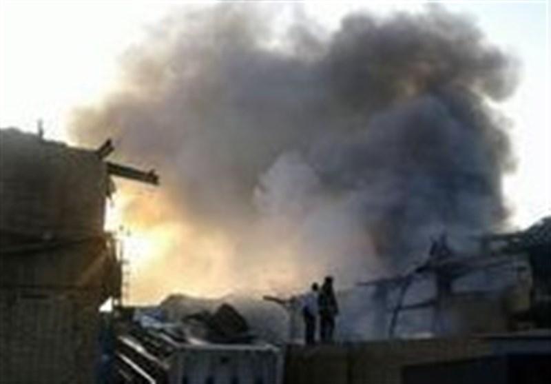 وقتی در سال رونق تولید آتش به جان کارخانجات شهرک شکوهیه قم میافتد