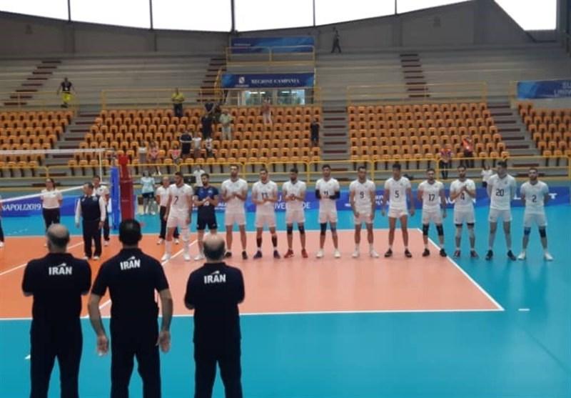 یونیورسیاد 2019 ایتالیا| تیم والیبال دانشجویان ایران سرانجام به نخستین پیروزیدست یافت