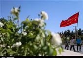 حرکت کاروان پیادهروی به حرم امام رضا(ع) از بجنورد آغاز شد+ تصویر
