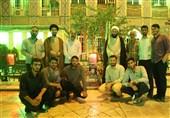 دیدار دانشجویان بسیجی دانشگاه امام صادق(ع) با پدر شهید حدادیان