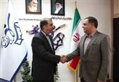 دیدار پهلوانزاده با سرپرست سازمان ورزش شهرداری تهران