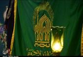 خدام حرم مطهر رضوی در حلقه استقبال ارادتمندان به امام هشتم در بیرجند