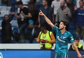Azmoun Nets Brace as Zenit Loses to Lokomotiv in Super Cup