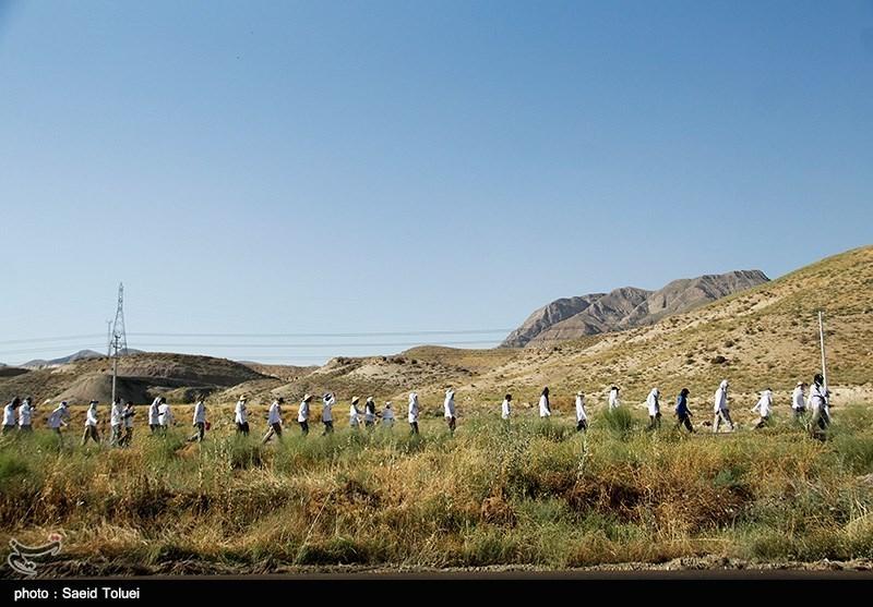 همایش بزرگ پیادهروی خانوادگی «راهی به سوی نور» در کهریزک برگزار شد