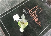 خوزستان| ادای احترام خدام امام رضا(ع) به شهدای گمنام خرمشهر