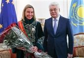 دیدار وزیر امور خارجه قزاقستان با موگرینی