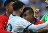 فوتبال جهان| اعتراض جالب مسبب اخراج مسی به تصمیم داور: حرکتمان کارت زرد هم نداشت!