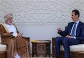 وزیر الخارجیة العمانی یلتقی الرئیس السوری