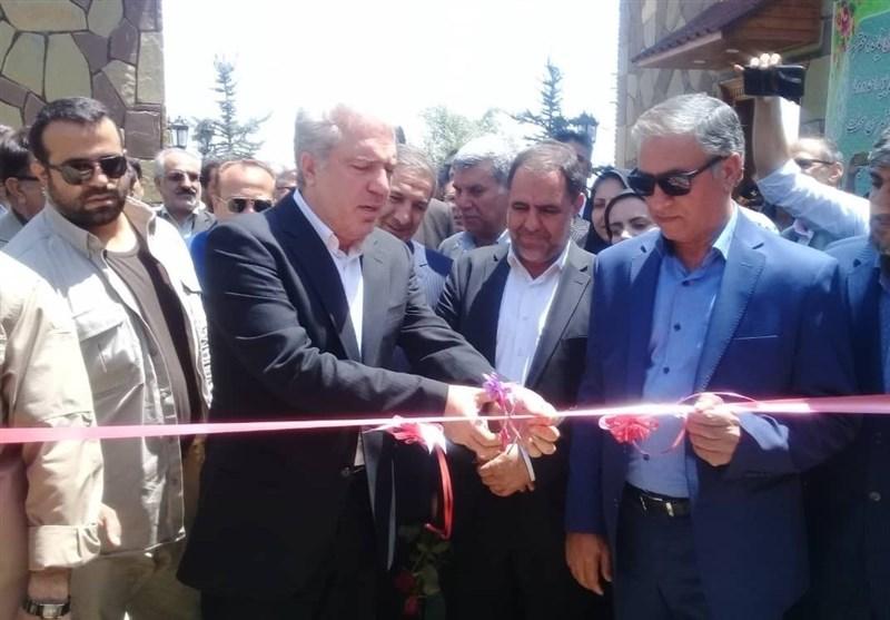 مجتمع گردشگری «دال دنا» با حضور معاون رئیسجمهور افتتاح شد